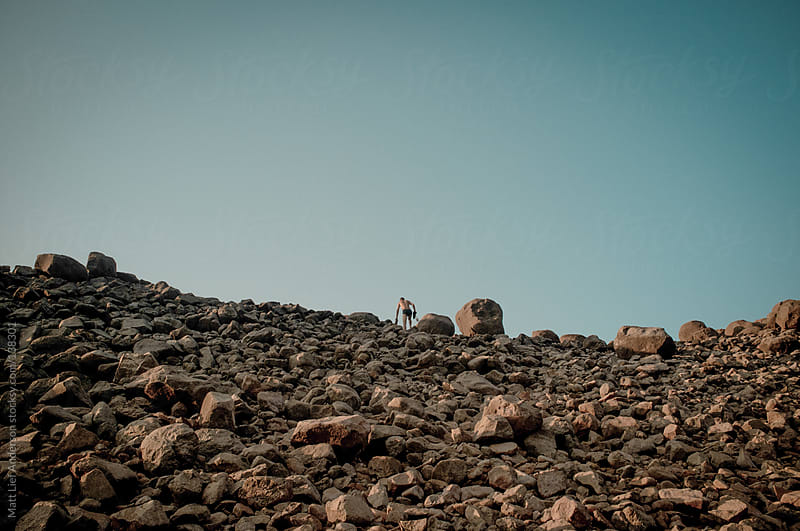 Rock Wall by Matt Lief Anderson for Stocksy United