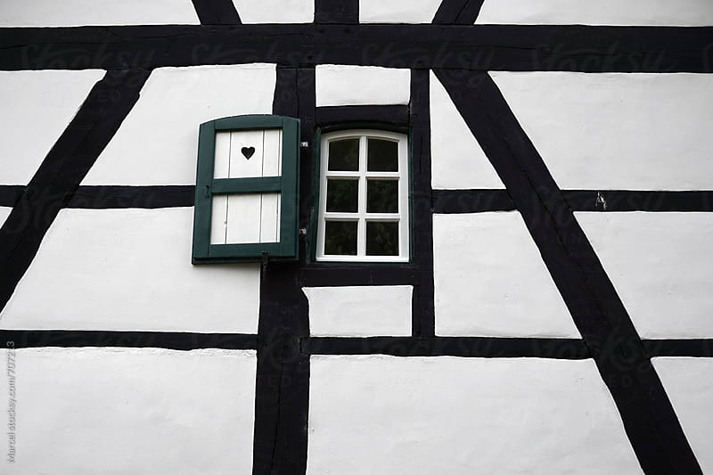 Old half timbered house by Marcel for Stocksy United