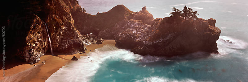 McWay Falls, California by Jason Denning for Stocksy United