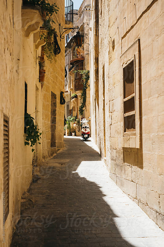Backstreet in Rabat, Malta by Sam Burton for Stocksy United