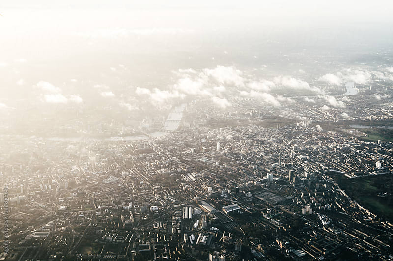 London Aerial by Agencia for Stocksy United