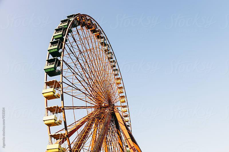 Ferris Wheel  by Agencia for Stocksy United