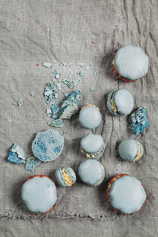 Homemade Macarons by Susan Brooks-Dammann for Stocksy United