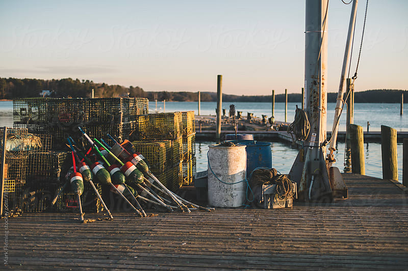 Dock by Mark Fleming for Stocksy United