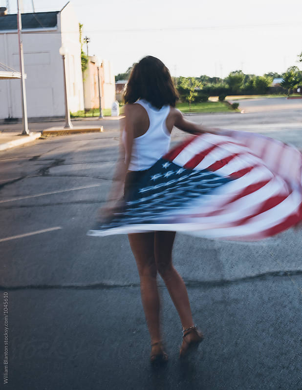 Small Town Patriotism  by William Blanton for Stocksy United