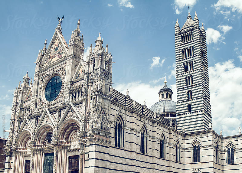 Duomo di Santa Maria Assunta in Siena by Leander Nardin for Stocksy United