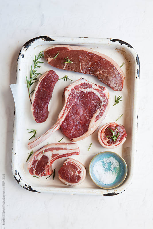 Selection of meat cuts by Nadine Greeff for Stocksy United