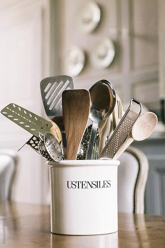 Kitchen Utensils by Raymond Forbes LLC for Stocksy United