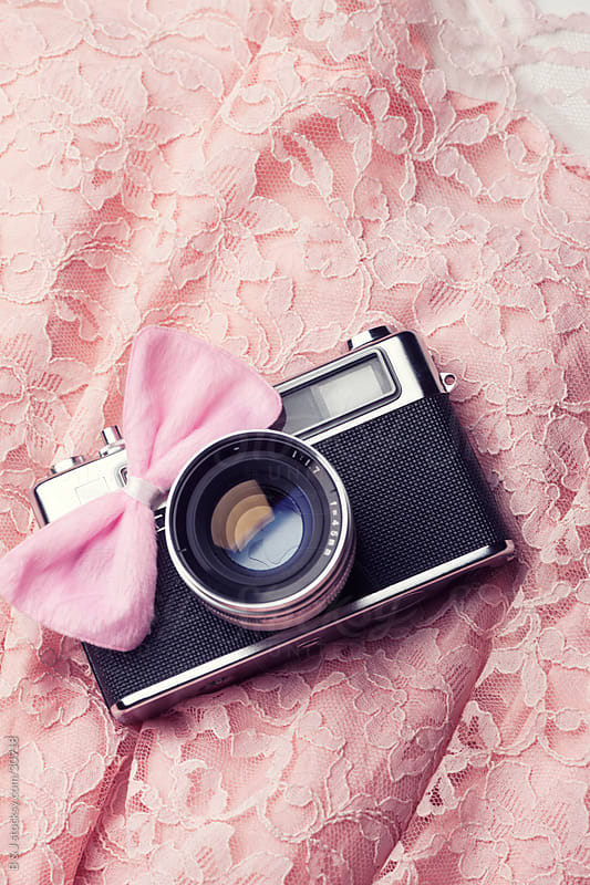 Girly Retro Camera by B & J for Stocksy United