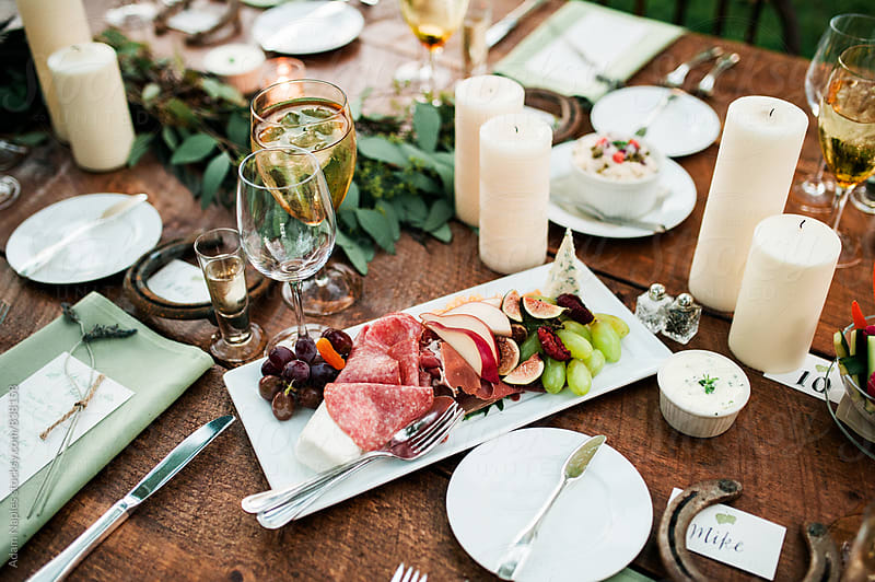 Wedding Table Spread by Adam Naples for Stocksy United