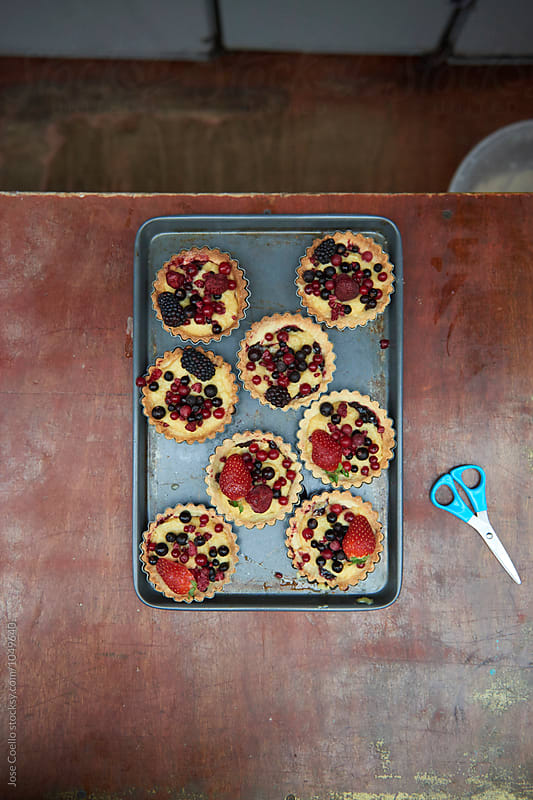 Fruit tart. by Jose Coello for Stocksy United