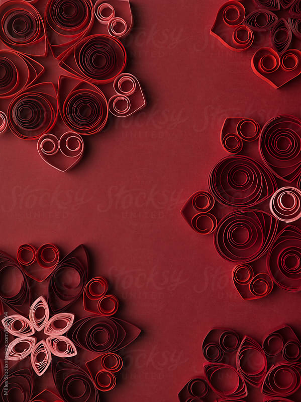 Abstract Quilling  by Milles Studio for Stocksy United