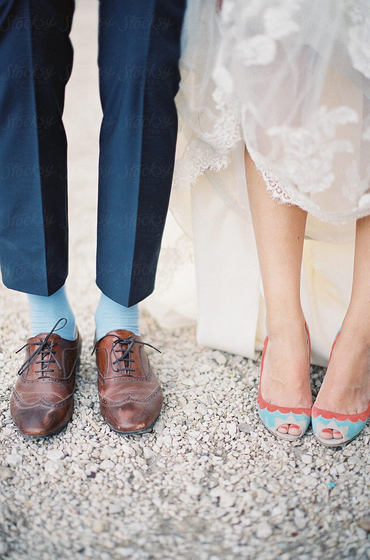 Bride \u0026 Groom shoes by Seth Mourra
