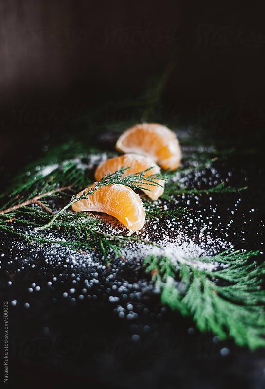 Tangerines winter by Natasa Kukic for Stocksy United