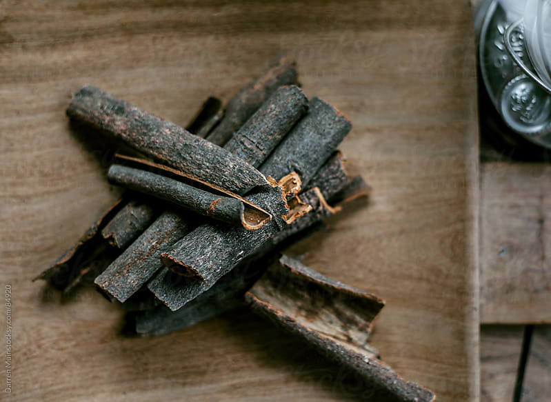 Cinnamon Sticks. by Darren Muir for Stocksy United