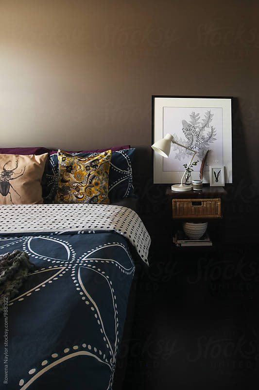 Bedroom interior by Rowena Naylor for Stocksy United