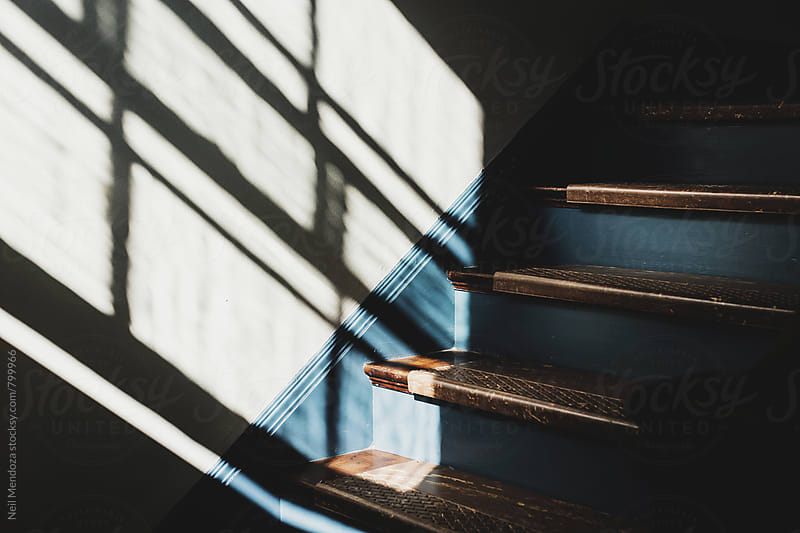 Stairs and Shadows 2 by Neil Mendoza for Stocksy United