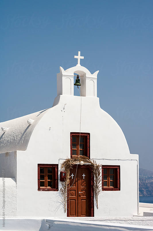 Santorini, Greece.  by Mental Art + Design for Stocksy United