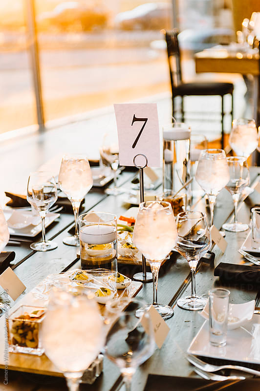Event Table Details by Cameron Whitman for Stocksy United
