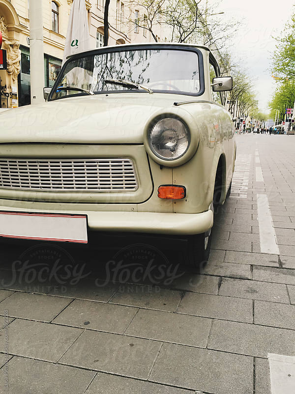 Old car in Vienna by Luca Pierro for Stocksy United