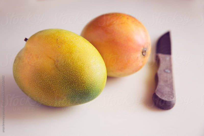 Ripe Mangoes by anya brewley schultheiss for Stocksy United