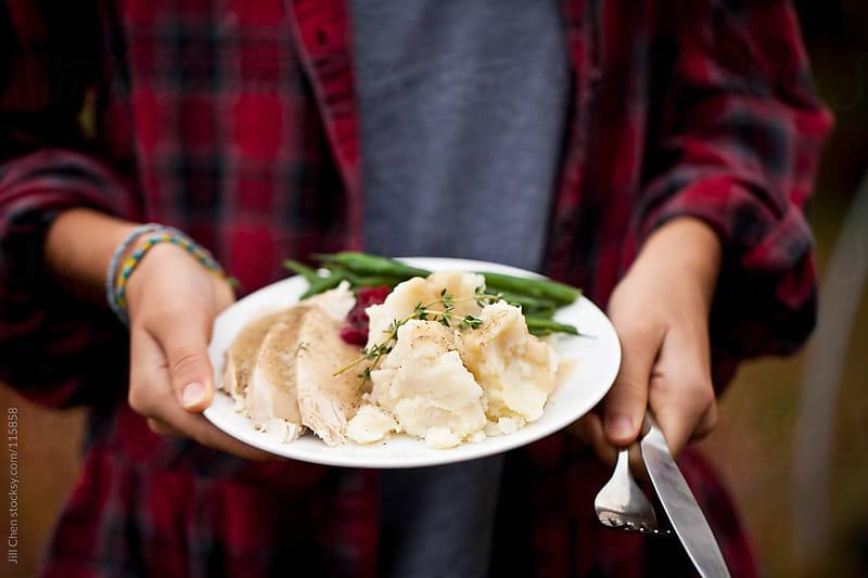 Cozy Thanksgiving Dinner by Jill Chen for Stocksy United