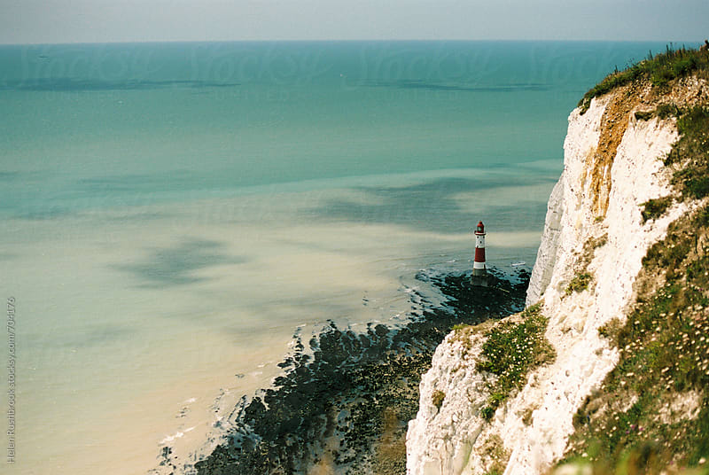 Beachy Head Lighthouse by Helen Rushbrook for Stocksy United