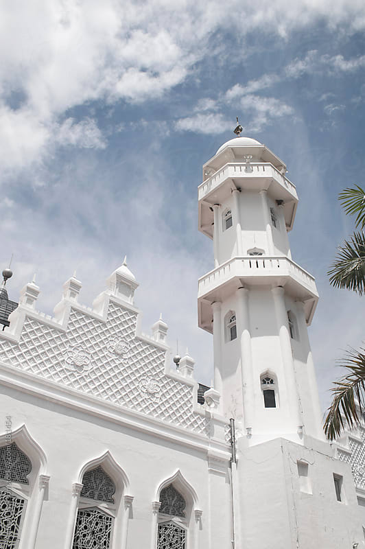 Baiturrahman Grand Mosque by Anthon Jackson for Stocksy United