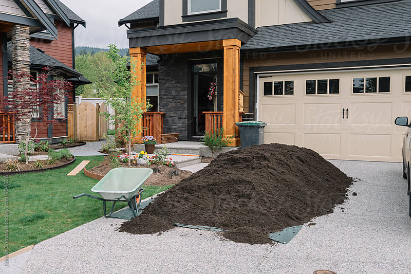 Pile Of Dirt For The Garden by Ronnie Comeau for Stocksy United