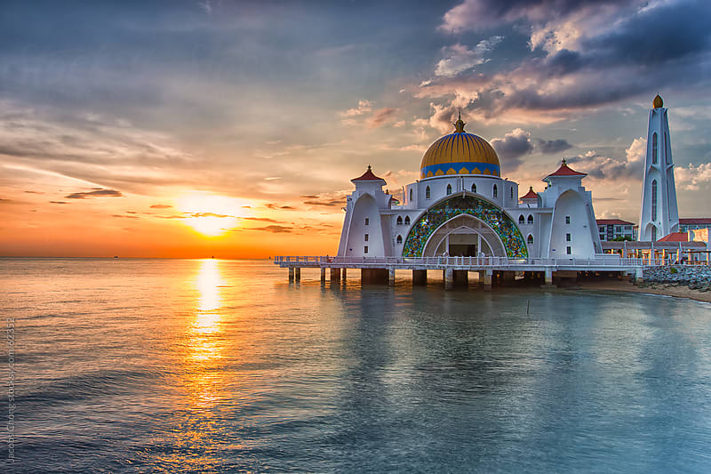 Malacca State Mosque by Jacobs Chong for Stocksy United