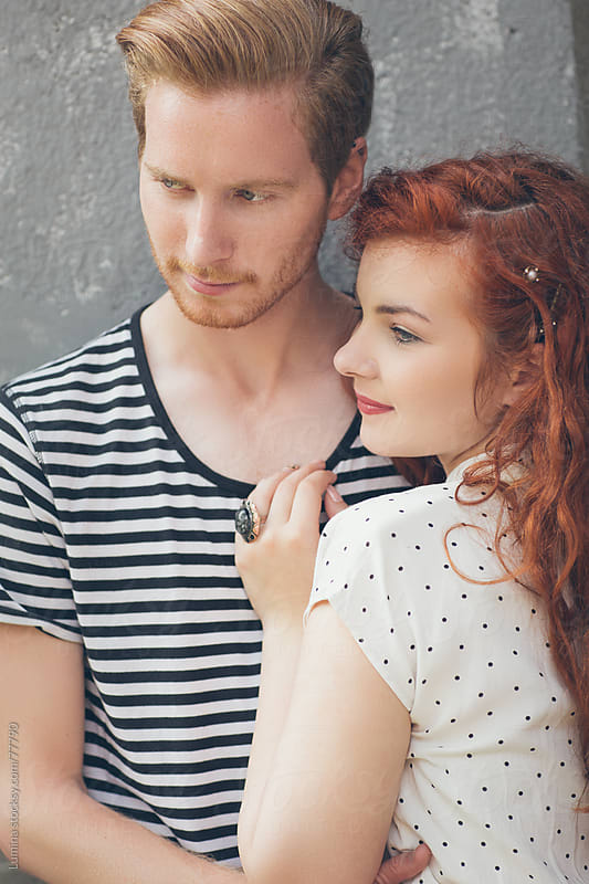 Ginger Caucasian Couple by Lumina for Stocksy United
