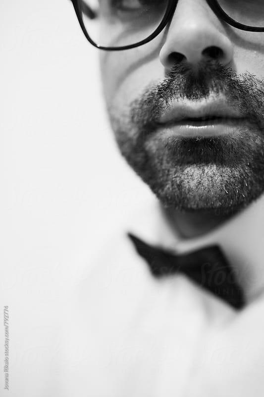 Beard close up by Jovana Rikalo for Stocksy United