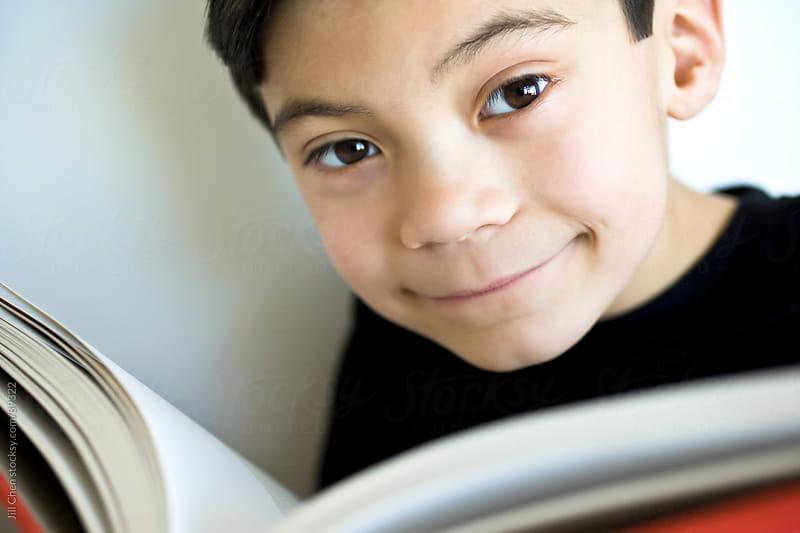Boy Reading by Jill Chen for Stocksy United