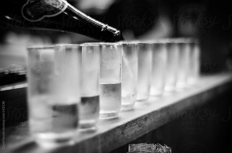 Sake shots by David Navais for Stocksy United