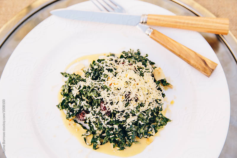 Kale Caesar Salad by Jayme Burrows for Stocksy United