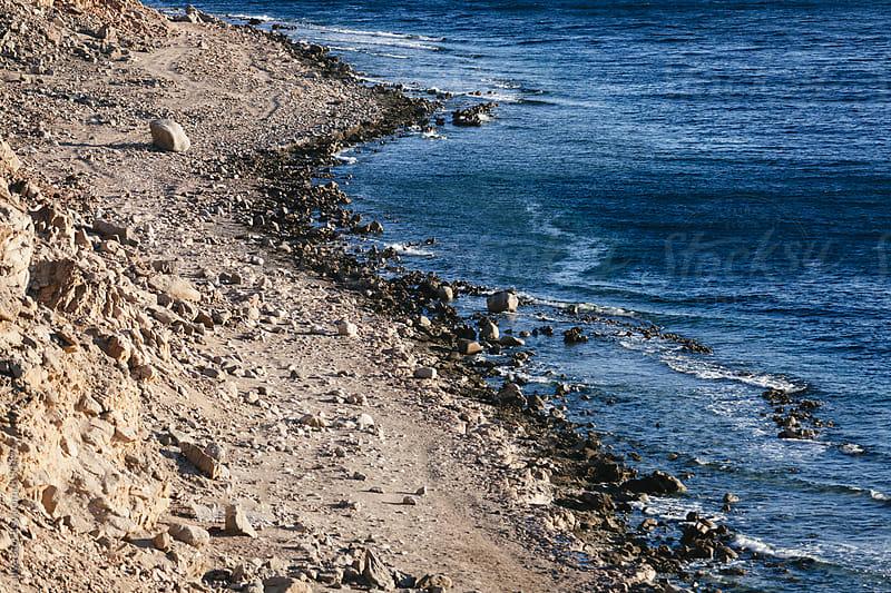 Coastline in Egypt by Ilya for Stocksy United