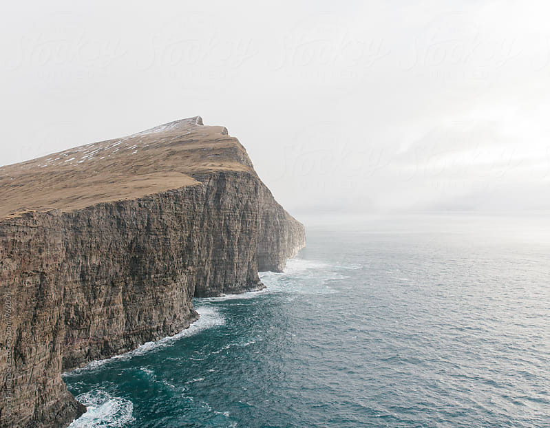 Cliffs, Faroe Islands by Kevin Faingnaert for Stocksy United