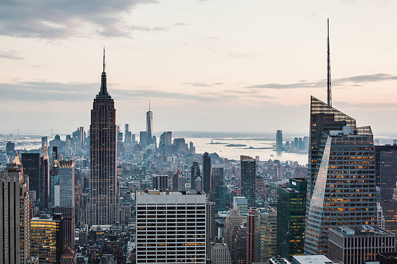 Cityscape of Manhattan, New York City by michela ravasio for Stocksy United