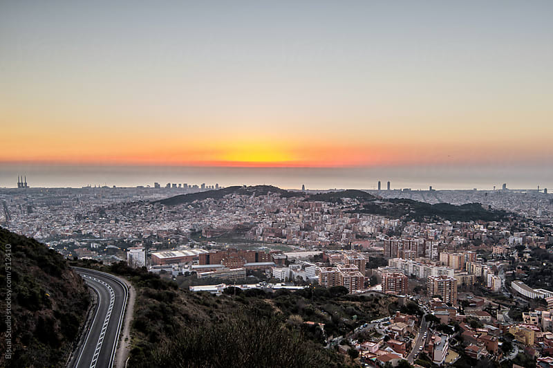 Barcelona views by Bisual Studio for Stocksy United