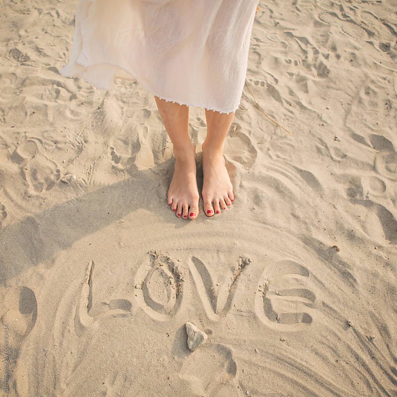Love in the Sand by Lumina for Stocksy United