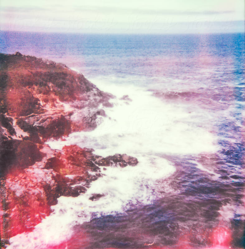 California Coast Polaroid by Matt Lief Anderson for Stocksy United