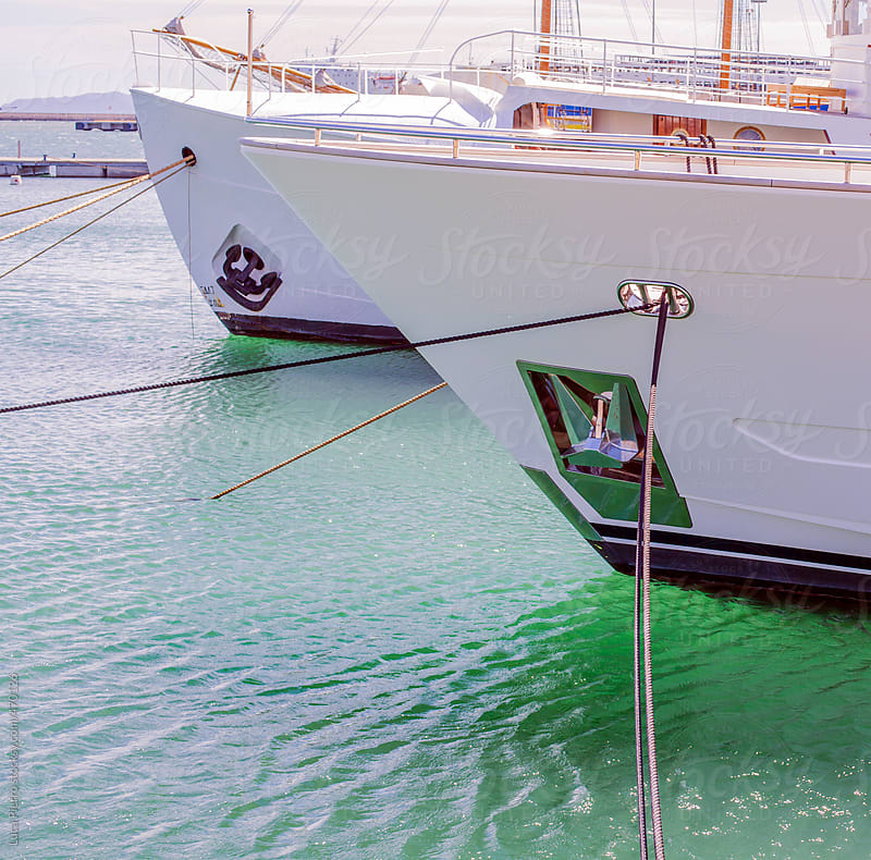 Boat details by Luca Pierro for Stocksy United