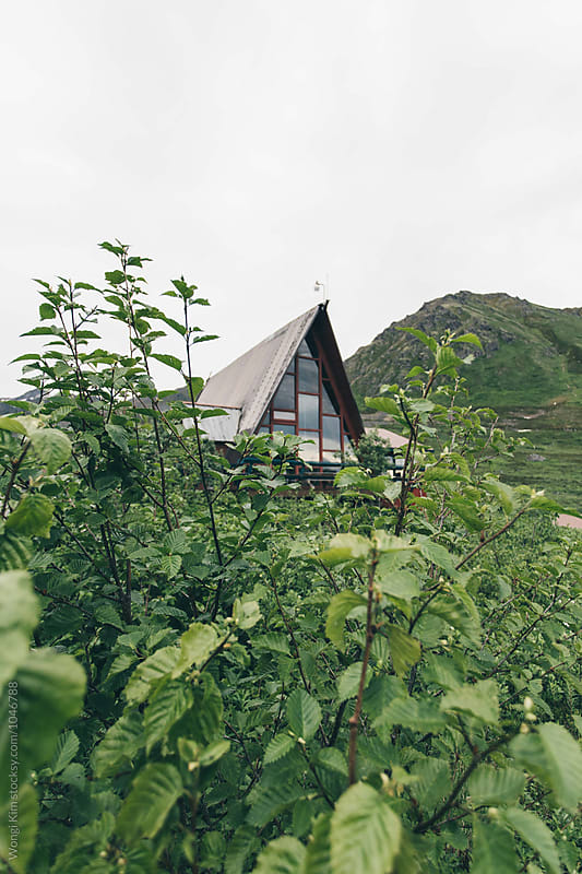 Hatcher Pass Lodge by Wongi Kim for Stocksy United