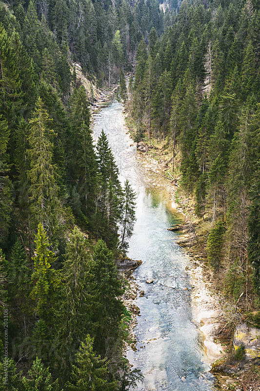 Ammer canyon by Peter Wey for Stocksy United