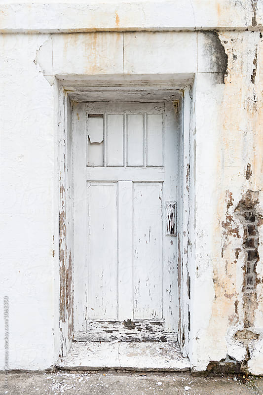 Old White Door by Ronnie Comeau for Stocksy United