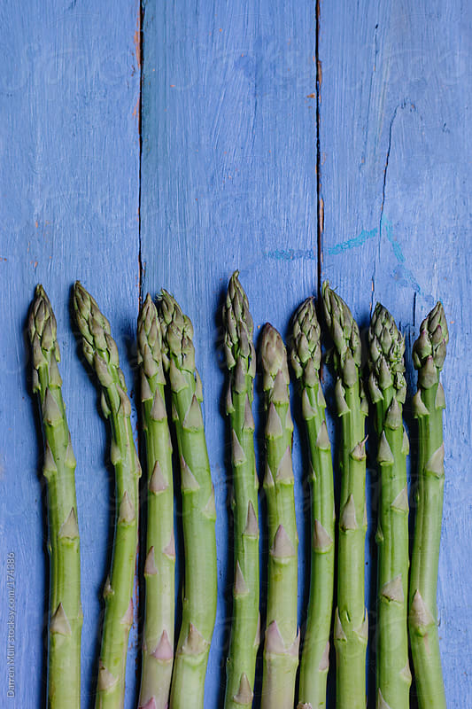 Spring asparagus. by Darren Muir for Stocksy United