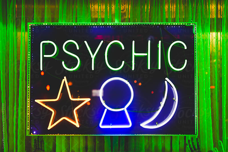 Psychic sign by Luca Pierro for Stocksy United