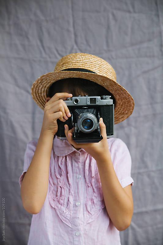 vintage camera by jira Saki for Stocksy United