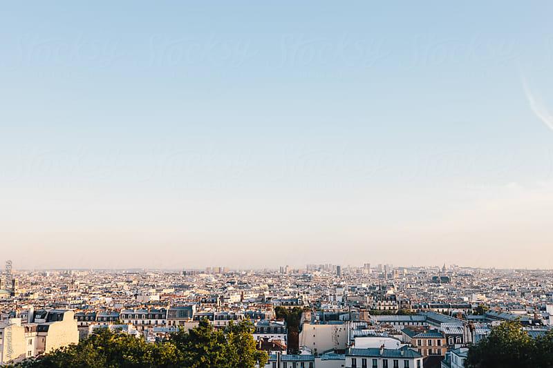 Paris Skyline by Agencia for Stocksy United