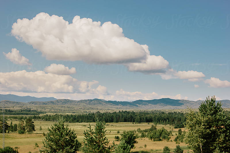 View of Khakassia by Milles Studio for Stocksy United